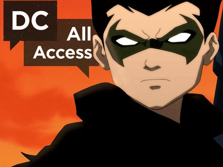DC All Access: The Dark Knight Drops By