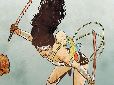 DC All Access: Win an Original Wonder Woman Illustration by Cliff Chiang