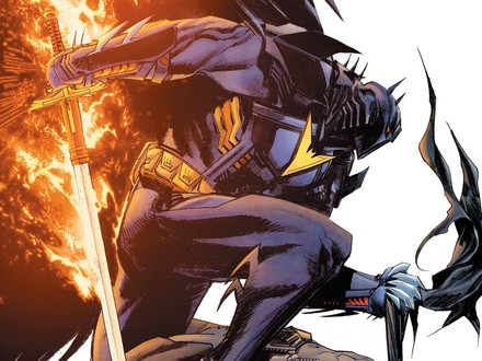 First Look: Batman and Azrael Battle for the Soul of Gotham