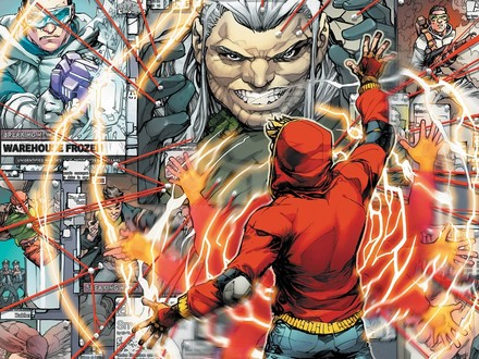 First Look: The Flash Fights his First Super-Villain