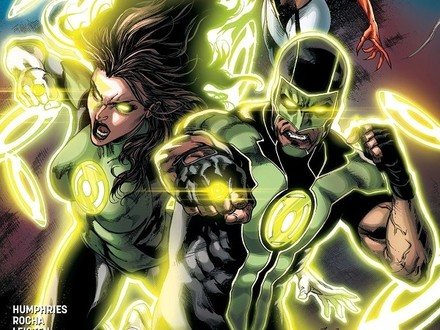 Vote for Your Favorite Green Lanterns Rebirth Cover