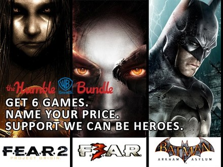 Save Lives while Saving Money with the WB Games Humble Bundle