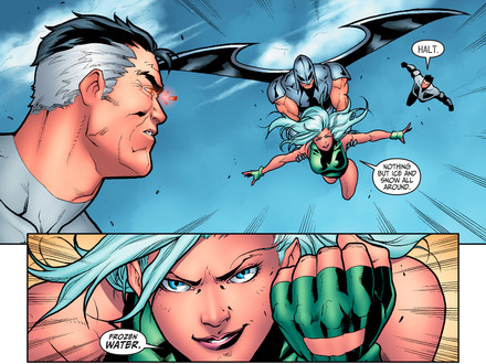 Beyond the Scenes: Aquagirl Returns to the Justice League