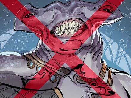 Seven DC Sharks Who Are Not King Shark and May Not Even be Sharks