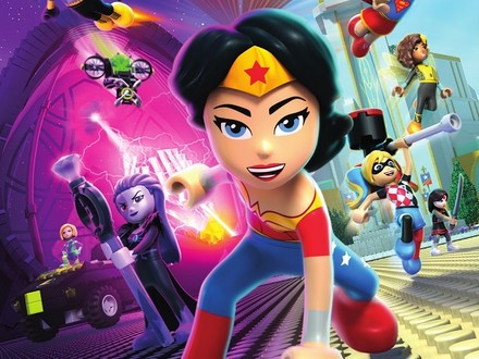 DC Super Hero Girls Go LEGO for a Brain Drain