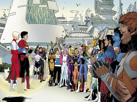 First Look: Superboy Enters the Future in Legion of Super-Heroes #1