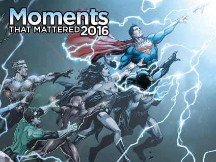 Ten Moments that Mattered: The DC Universe Experiences a Rebirth