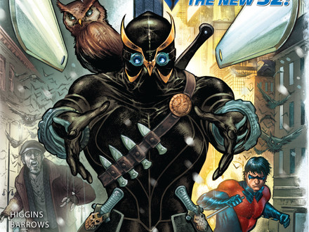 NIGHTWING #8 cover