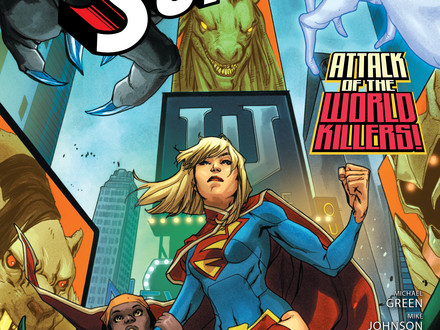 SUPERGIRL #7 cover