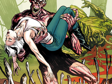 Swamp Thing 11 cover