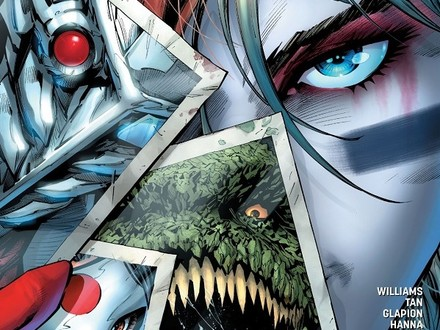 Vote for Your Favorite Suicide Squad Rebirth Cover