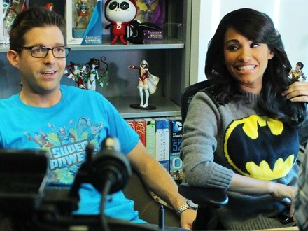 Two Co-Hosts Conversing: Tiffany and Blair Discuss DC All Access
