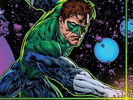 The Green Lantern is a Psychedelic Space Trip Across the Stars