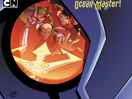 YOUNG JUSTICE #15 cover