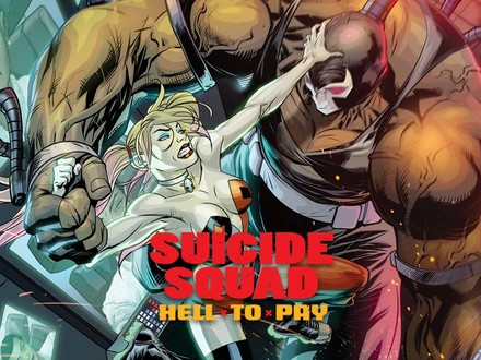 THERE IS HELL TO PAY IN THIS NEW SUICIDE SQUAD COMIC SERIES, AND IT BEGINS RIGHT NOW
