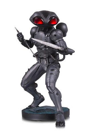 AQUAMAN MOVIE: BLACK MANTA STATUE