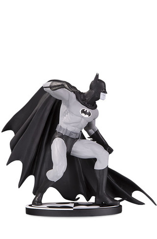 BATMAN BLACK & WHITE BATMAN BY GENE COLAN STATUE
