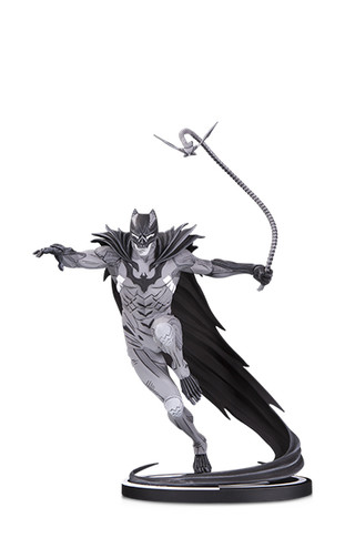 BATMAN BLACK & WHITE BATMAN BY KENNETH ROCAFORT STATUE