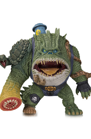 DC ARTISTS ALLEY: KILLER CROC BY JAMES GROMAN DESIGNER VINYL FIGURE