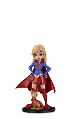 DC ARTISTS ALLEY: SUPERGIRL BY CHRISSIE ZULLO DESIGNER VINYL FIGURE
