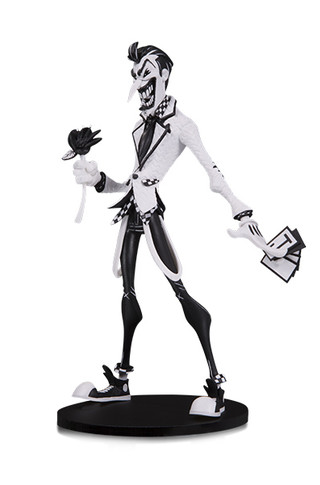 DC ARTISTS ALLEY JOKER BY HAINANU NOOLIGAN SAULQUE VINYL FIGURE B&W