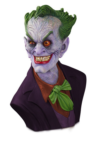 DC GALLERY: THE JOKER 1:1 BUST BY RICK BAKER STANDARD EDITION