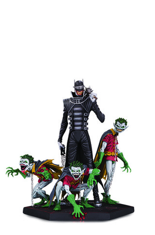 DARK NIGHTS: METAL THE BATMAN WHO LAUGHS & ROBIN MINIONS DELUXE STATUE