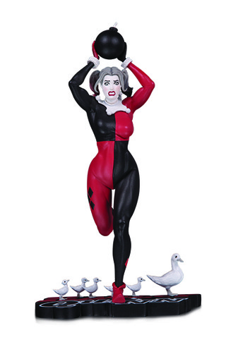 HARLEY QUINN: RED, WHITE & BLACK: HARLEY QUINN BY FRANK CHO STATUE