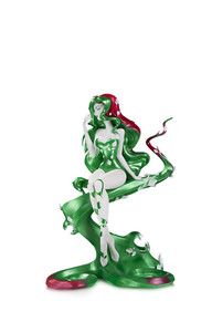 DC ARTISTS ALLEY: POISON IVY BY SHO MURASE DESIGNER VINYL FIGURE- HOLIDAY
