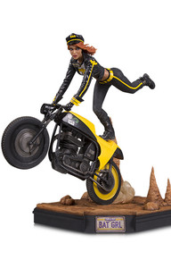 GOTHAM CITY GARAGE: BATGIRL STATUE