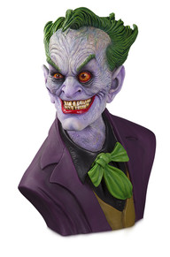 DC GALLERY: THE JOKER 1:1 BUST BY RICK BAKER
