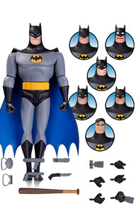 Details about  /DC Collectibles Batman the Animated Series Batman Expressions Pack.