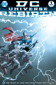 Image result for DC universe rebirth 1