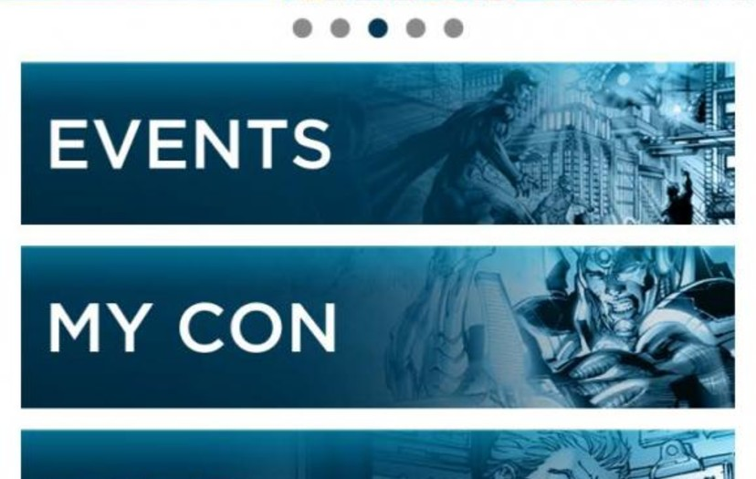 DC Entertainment Launches New Events App – the Perfect Digital Companion for Comic-Con International: San Diego 2013