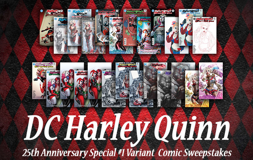 All-New Chance to Win for the Harley Quinn Fans!
