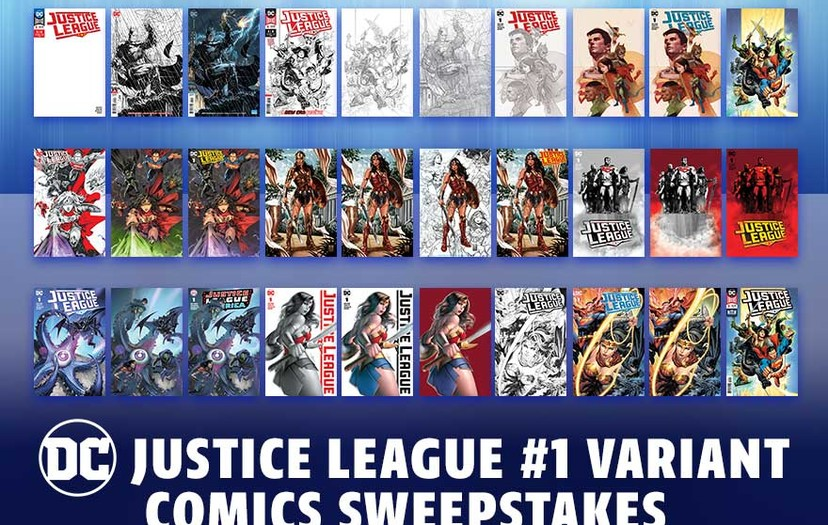 All-New Chance To Win for Justice League fans!