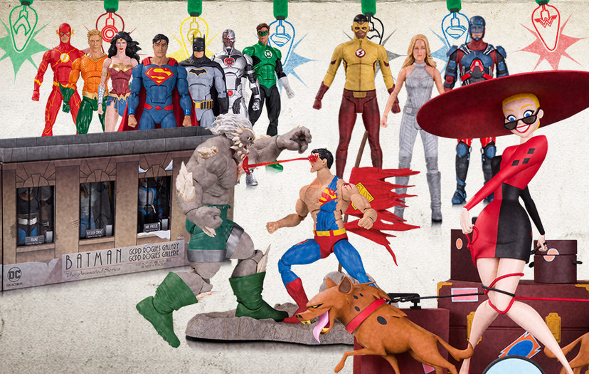All-New Chance to Win from DC Collectibles in Time for the Holidays!