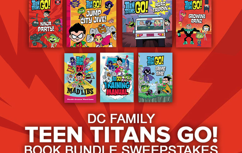 All-New Chance to Win for the Whole DC Family!