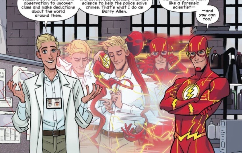 Speed Read These Five Fun Flash Facts