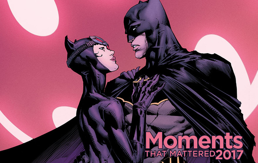 Ten Moments that Mattered: Batman and Catwoman Get Engaged