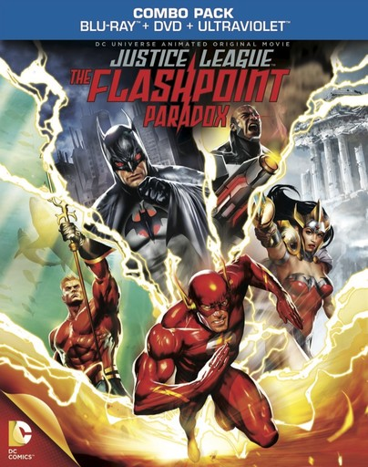 Justice League: The Flashpoint Paradox - Box Art