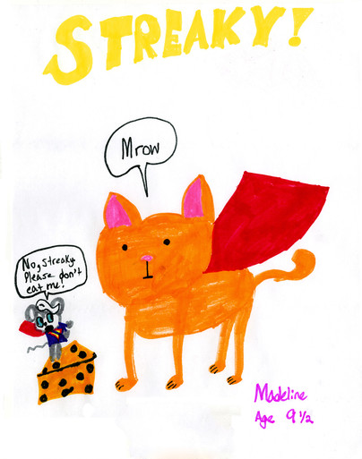 Streaky! by Madeline