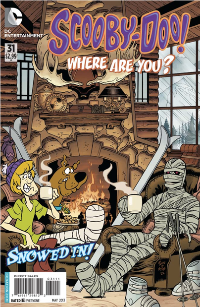 Scooby-Doo, Where Are You? #31 Cover