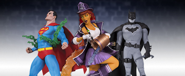 The Latest Products Announced by DC Collectibles