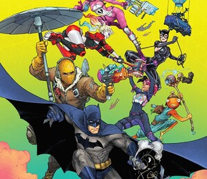 Christos Gage and Reilly Brown Share Secrets from Batman/Fortnite