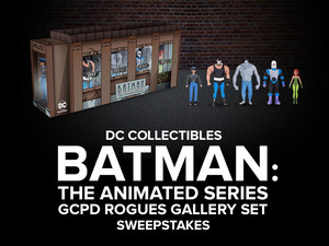 All-New Chance to Win from DC Collectibles!