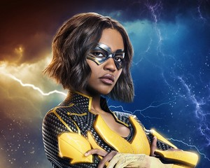 First Look: China Anne McClain Suits Up as Lightning