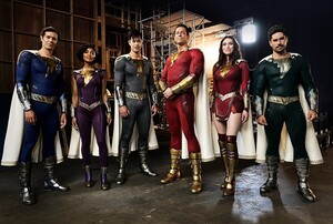 First Look: The Shazam Family Show Off Their Suits