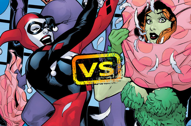 DC All Access: Harley Quinn vs. Poison Ivy