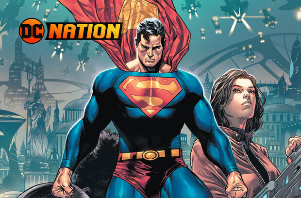 Warworld Arrives in Atlantis, with Superman Caught in the Middle